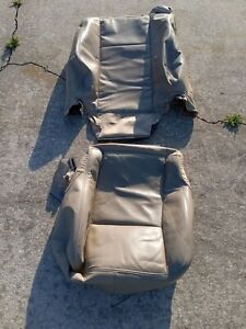 2003 2007 Cadillac Cts Front Left Side Driver Seat Skinn Tan Oem