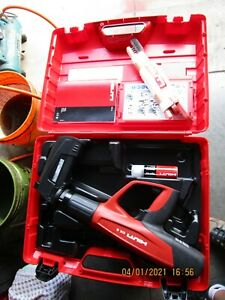 Hilti Powder actuated Tool Dx 5 Mx With Collated Nail Magazine Brand New 1001