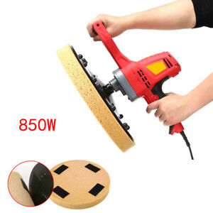 Electric Concrete Cement Mortar Trowel Wall Smoothing Polishing Machine 380mm