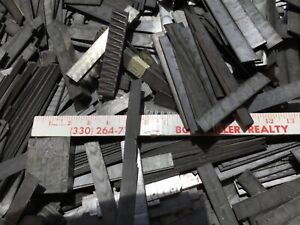 10 Pounds Printers Linotype Material Lead $30.00