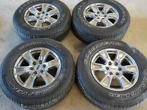 2015 16 17 18 19 2020 Ford F150 18x7 5 Factory Wheels 6x135 And 275 65r18 Tires