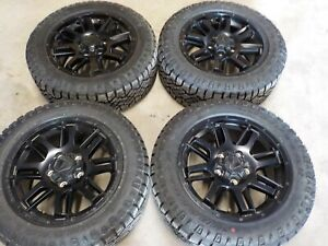 2017 18 19 2020 Toyota Tundra Tss Trd 20x9 Factory Wheels And 275 55r20 Tires