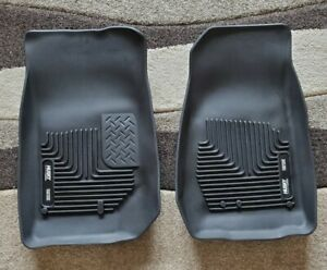 Husky X Act Contour Floor Mats For 07 18 Jeep Wrangler Jk Unlimited Front Mats