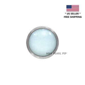 Pearl Pip Turquoise Lume For Bezel Insert For Rolex Submariner Ceramic Silver