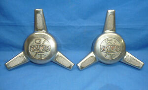2 Vintage Cragar Gt Center Cap Spinner Ct29