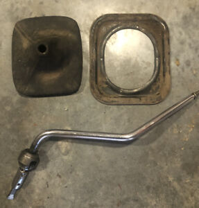 73 87 Gm Chevy Gmc Sm465 Chrome Shifter Boot Ring 4 Speed Sm465 K30