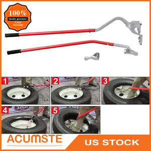 17 5 To 24 tire Changer Tire Mount Demount Tool Tools Tubeless Truck Bead Red