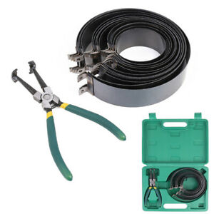Automotive Car Engine Piston Ring Compressor Tool Set With Pliers And 14 Bands