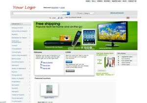 Auction Website For Sale Free Install Hosting With Ssl
