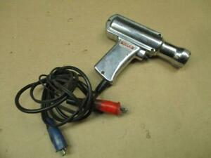 Vintage Kal Equip Auto Timing Light L5 6 Or 12 Volt Chrome Ray Gun