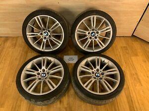 06 13 Oem Bmw E90 E92 E93 Sport Wheels M Spider Spoke Style 193 R18 Set 8j 8 5j