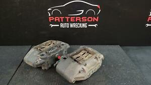 2005 Acura Rl Pair Of Left And Right Front 4 Pot Brake Calipers