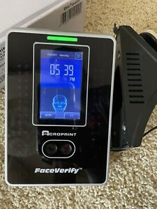Acroprint Timeqplus Faceverify Facial Recognition Time And Attendance Tq600f