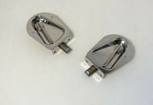 New 1955 1956 1957 1958 Chevrolet Cameo Truck Right Tailgate Latch Show Polished