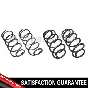 2x Moog Chassis Products Front Rear Coil Spring Set For Jeep Tj 2000 2004