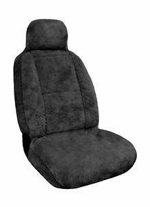 Eurow Sheepskin Seat Cover 56 By 23 Inches Gray