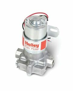Holley Electric Fuel Pump 6145 2 Red Auto