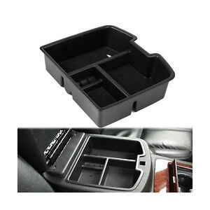 Edbetos 07 14 Full Size Gm Trucks Center Front Floor Console Organizer For Ch