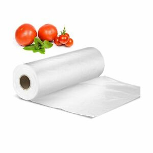 12 X 16 Plastic Produce Bag On A Roll Bread And Grocery Clear Bag 350 Bag