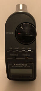 Radio Shack Digital Sound Level Meter Tester 33 2055 Tested And Working