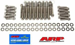 Arp Cylinder Head Bolts Stainless Steel 12 pt Head Sbc Stock Afr Brodix Heads
