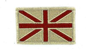 Patch Embroidered Thermoadhesive Flag UK English Royaume Plain Airsoft Camo $2.71