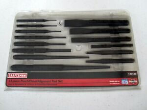 Nos Craftsman 14pc Punch Chisel Set 43122 Wf Made In Usa