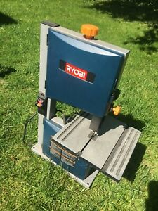 Ryobi 9 Band Saw bs904 2500 Fpm 120v Requires 62 Blade Uses 1 8 1 4 3 8