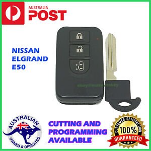 Nissan Elgrand Smart Key Remote Genuine 3 Buttons