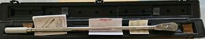 New Snap On 3 4 Drive Torque Wrench 120 600 Ft lb Part No Qd4r600a