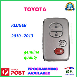 Toyota Kluger Highlander Prox Smart Key Suit Models 2010 2011 2012 2013