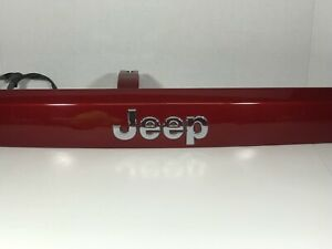 2007 2017 Jeep Compass Patriot Lift Gate Trunk Trim Handle Red Oem
