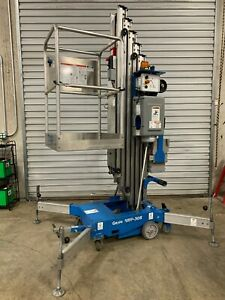 2011 Genie Awp 30s Super Series Single Man Aerial Lift Great Condition
