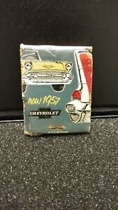 Nos Vintage 1957 Chevrolet Matchbook Sweet Smooth And Sassy Schmidt Display