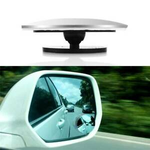 2pcs Car Rearview Mirror Blind Spot Side Convex View Wide Angle Van Adjustable F