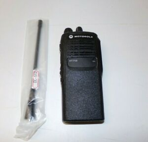 Excellent Condition Motorola Ht750 450 512 Mhz Uhf Two Way Radio Aah25sdc9aa3an