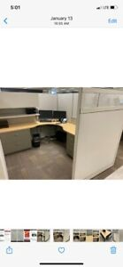 Steelcase Office Modular Cubicle Stations