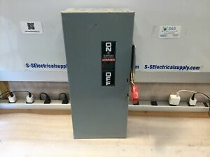 Ge Heavy Duty 100 Amp Safety Disconnect Switch Th4323 3w 4p Fusible 240v
