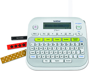Brother Label Maker Printer Machine Office Supplies Labeling Electronic System