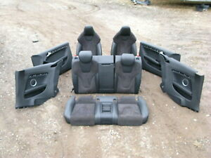 08 15 Audi 8t S5 Rs5 A5 Coupe Front Rear Seat Door Panel Set Alcantara Suede