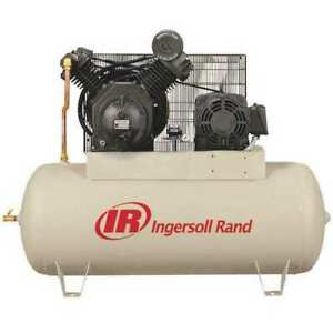 Ingersoll Rand 7100e15 v 200 3 Electric Air Compressor 2 Stage 15 Hp