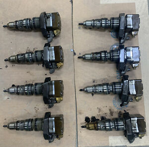 Set Of 8 Ab Ford 7 3l F 250 F 350 Powerstroke Diesel Fuel Injector Ab1822803c1