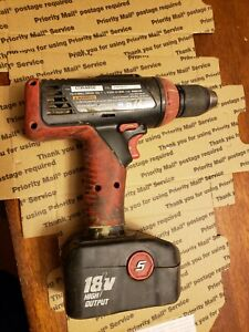 Snapon 18v 1 2 Drill Driver W Battery Cdr4850