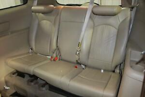 2008 Buick Enclave Oem Back Bench Thrid Row 3rd Rear Seat Leather Tan