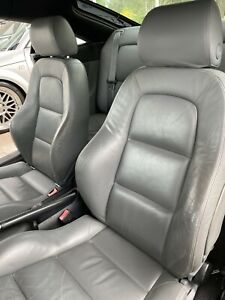 Audi Tt Mk1 Complete Grey Leather Interior Front And Rear Seats