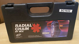 Scc Radial Chain Sc1030 Snow Cables Traction Tire Chains Winter S Clearance
