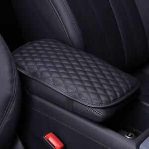 Universal Car Auto Armrest Pad Center Console Box Cushion Soft Accessories Black
