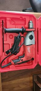Milwaukee 1 2 Corded Hammer Drill Kit 5378 21 With Case