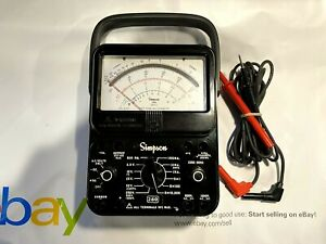 Simpson 260 8 Multimeter Leads Brand New Never Used