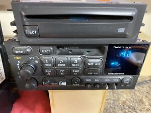 1995 2002 Chevy Silverado Sierra Tahoe Yukon Suburban Cd Player 16240075
